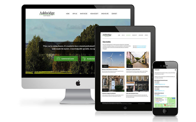 Ashbridge Partners Website