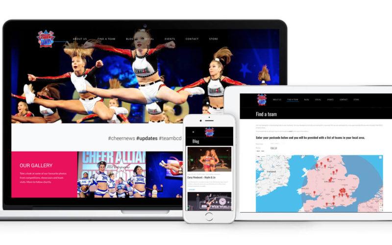 BCD Cheer Website