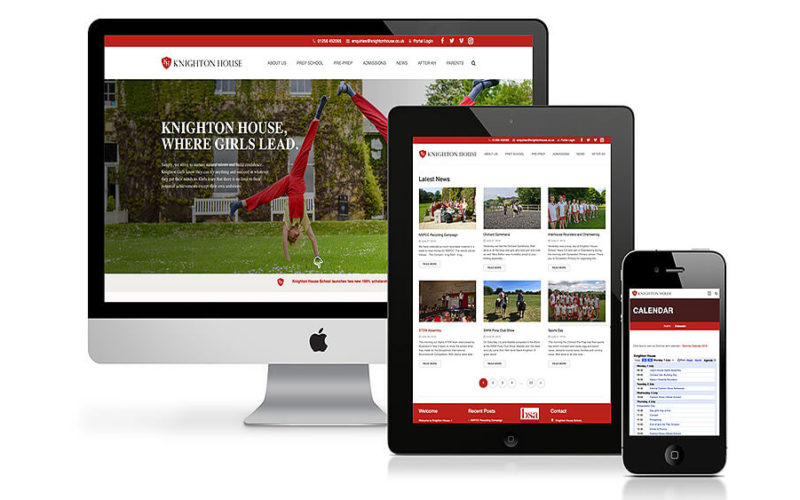 Knighton House School Website