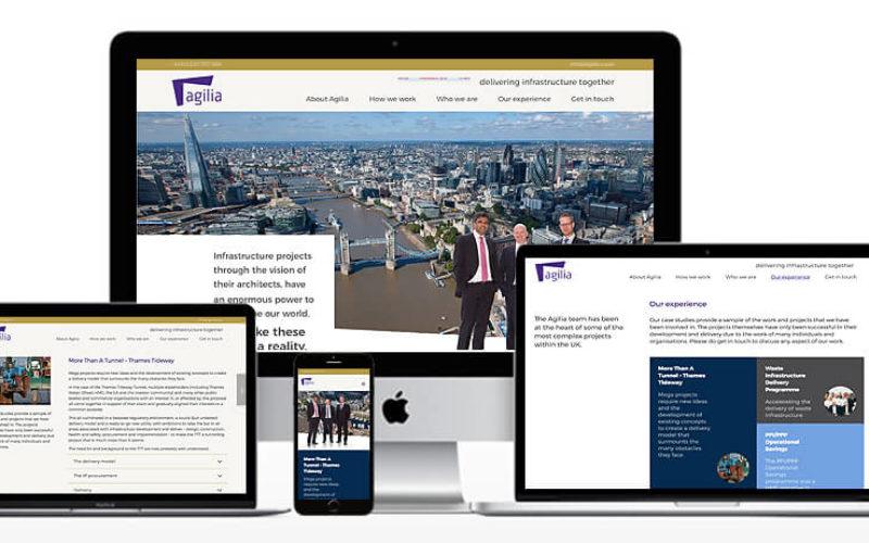 Agilia Website