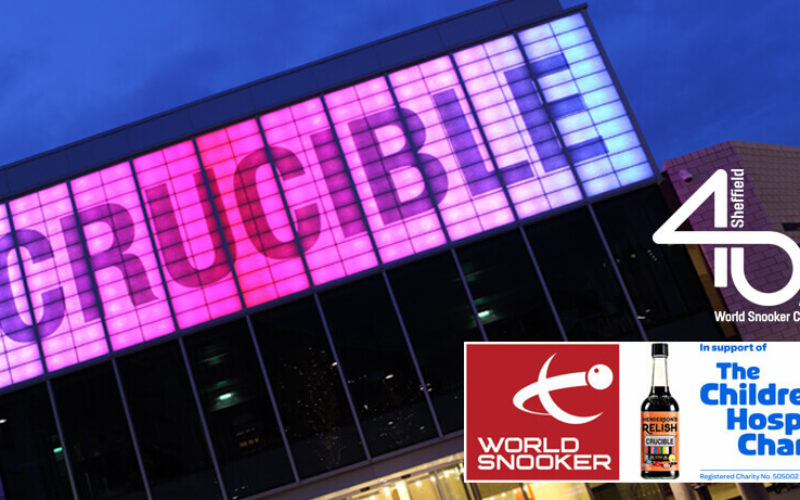 40 years of World Snooker at The Crucible